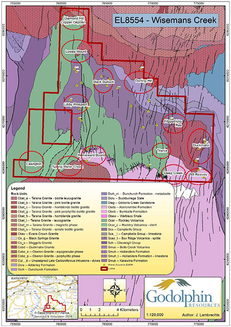 GRL-WisemansCreek-Mineralisation
